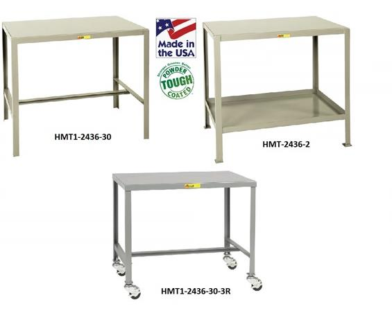 ALL-WELDED STEEL TOP MACHINE TABLES